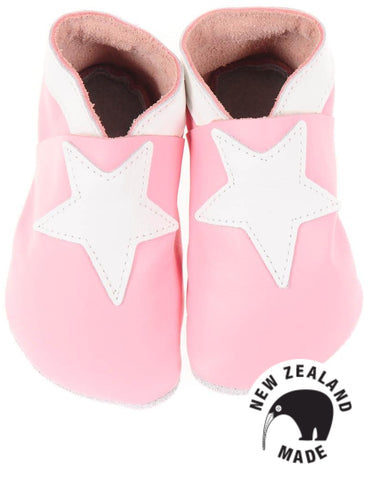 Peony Stars - NZ made leather shoes