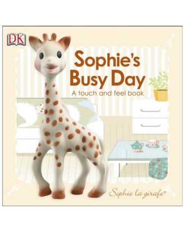 Sophie la Girafe - Busy Day touch and feel book