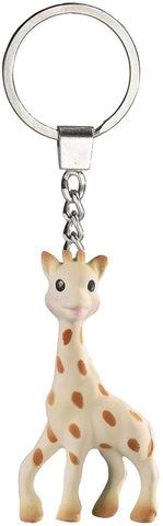 Sophie la Giraffe - original natural teether keyring