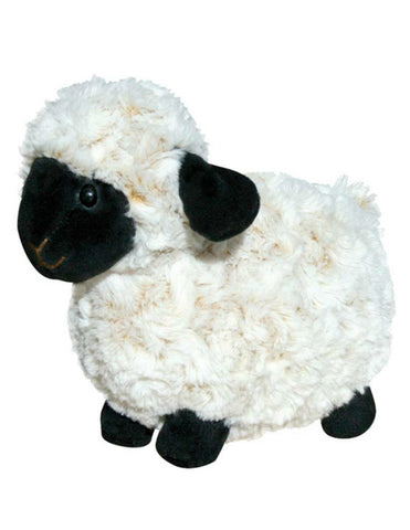 Cuddly sheep soft toy