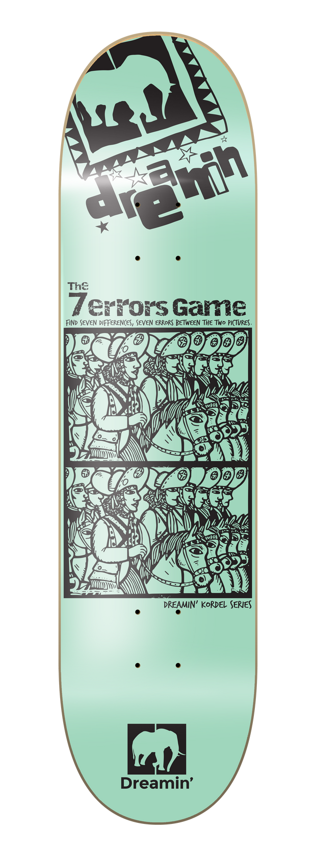 Kordel Series - 7 Errors Game