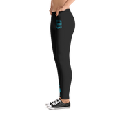 Ocean Blue Dreams Gals Leggings