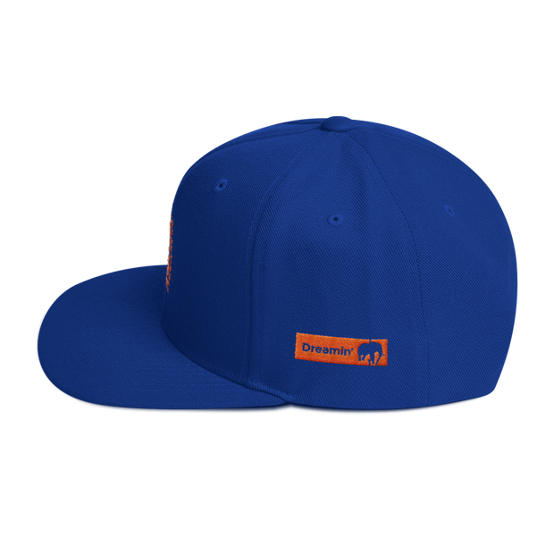 True Royal Snapback Hat