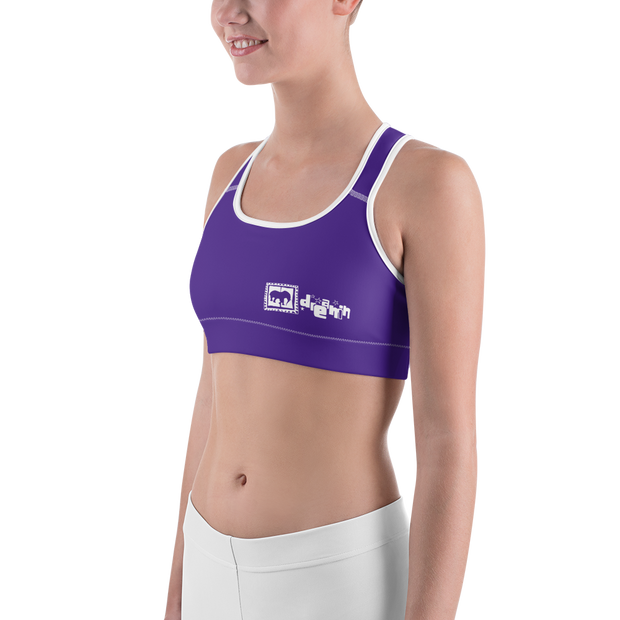 Purple dreams Gals Sports Bra