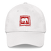 D' Kordel Logo Wht/Red Dad hat