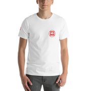 D' Red Circle Mens T-Shirt