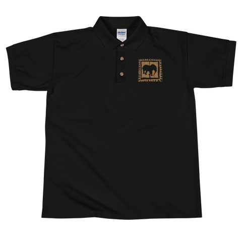 D' sole kordel logo Embroidered Polo Shirt