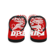 Red Demon Fight Flip-Flops
