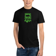 Acid Green Logo Mens Eco T-Shirt