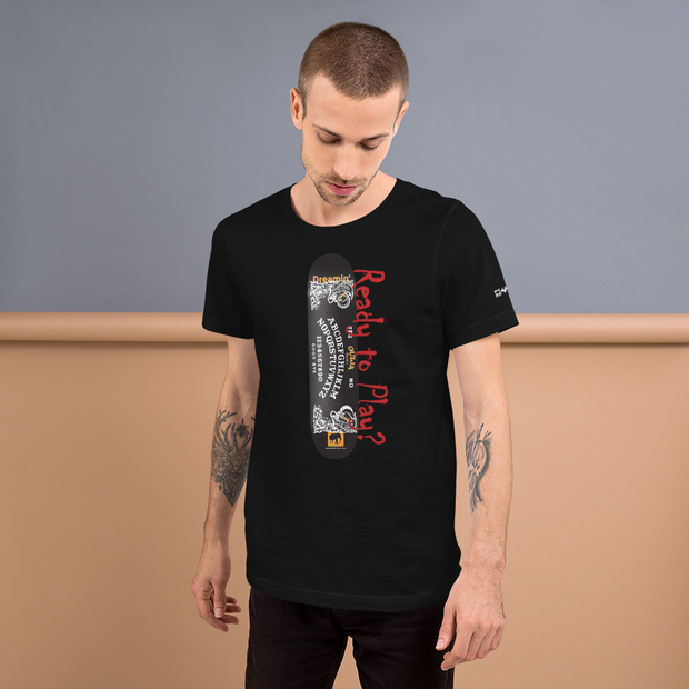 Ouija Model Mens T-Shirt