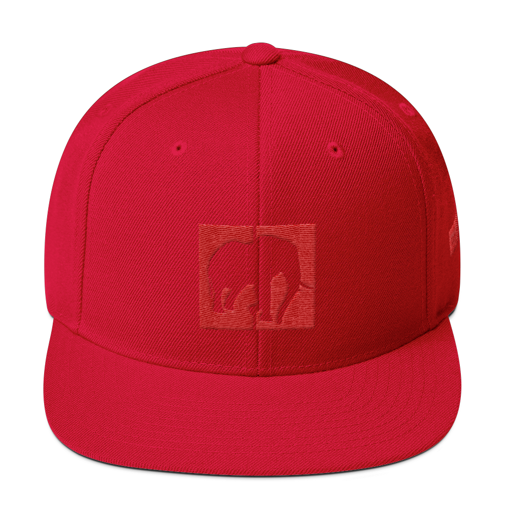 Red on Red  Snapback