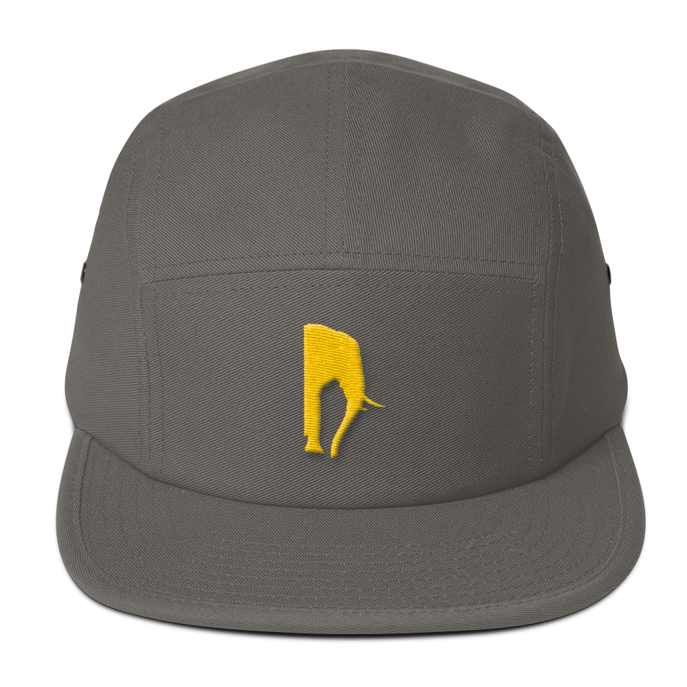 D' Phant Grey Five Panel Cap