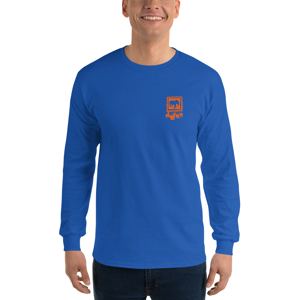 D'single orange Long Sleeve T-Shirt