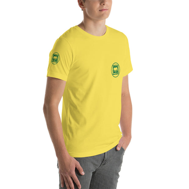 D' Green Brazilian Circle Mens T-Shirt