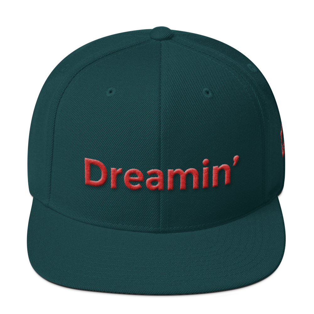 Dreamin Spruce/Red Snapback