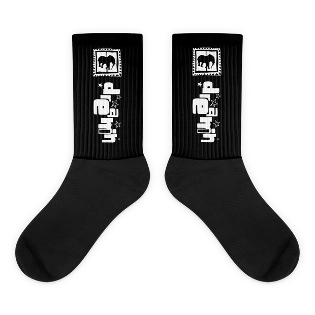 D' Logo Long Socks