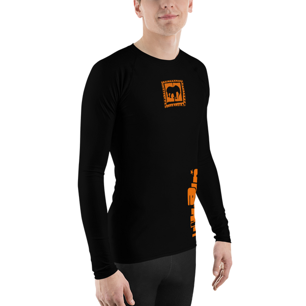 Orange Dreams Rash Guard