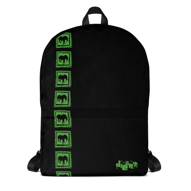 Acid Green Backpack