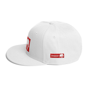 D' Logo wht/red Snapback