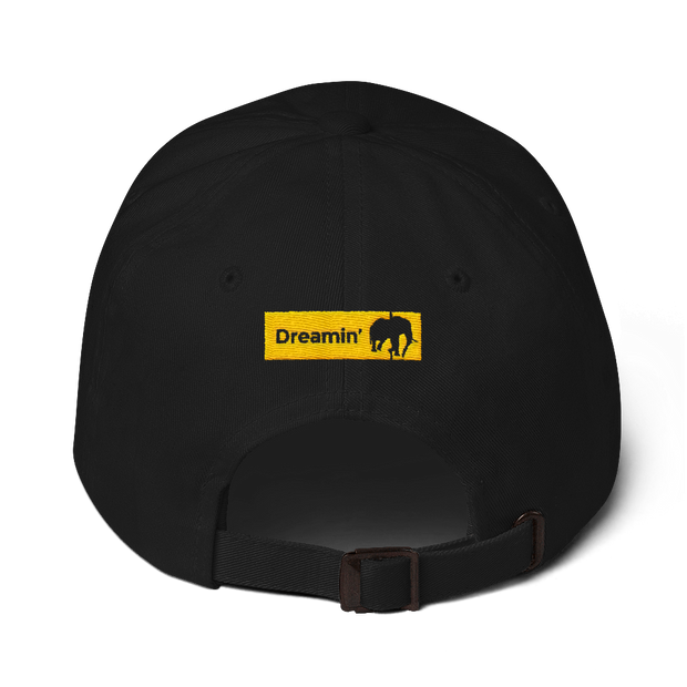 D' Kordel Logo Black/Yllw Dad hat