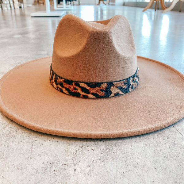 Cheetah Belt Statement Hat