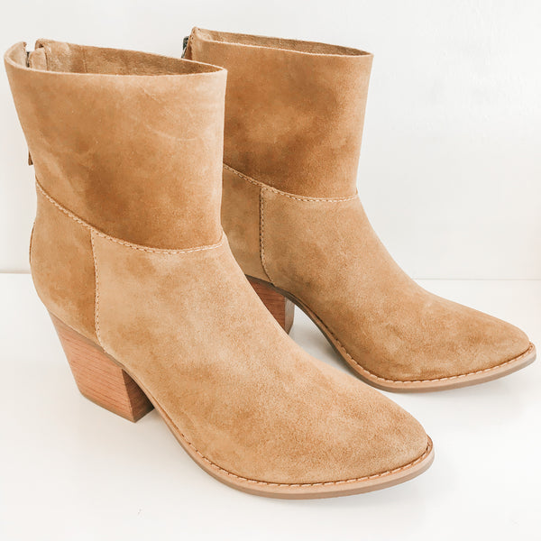 Matisse Soho Fawn Suede Booties