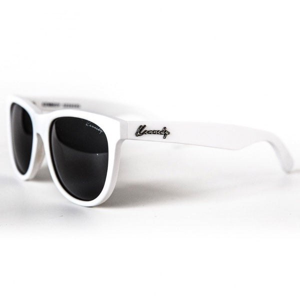 Sunglasses - Matte White