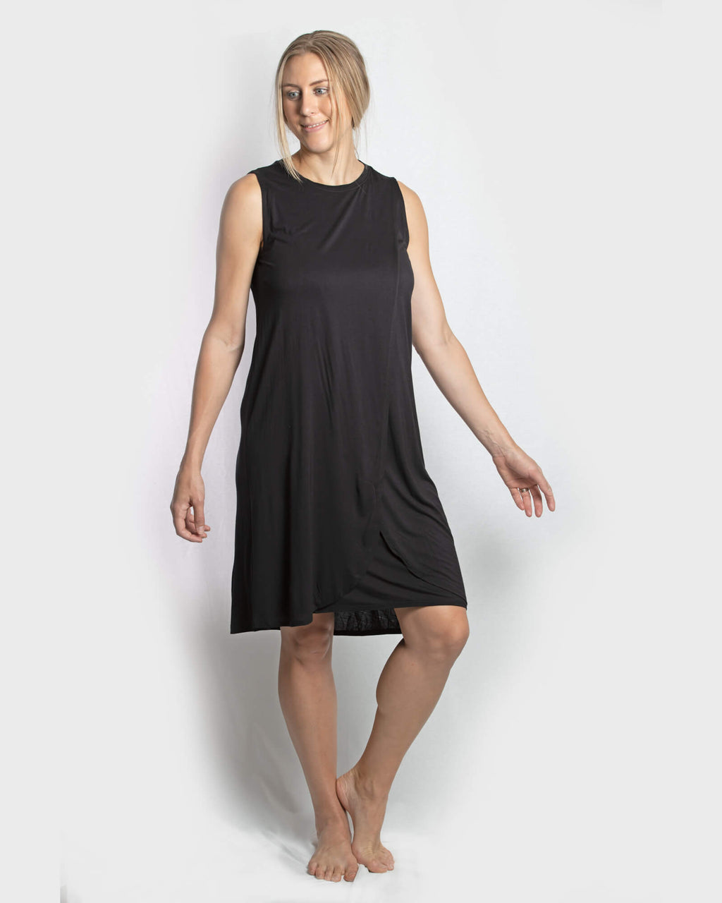 JUST ARRIVED!! - Jessica Cross Over dress - Black