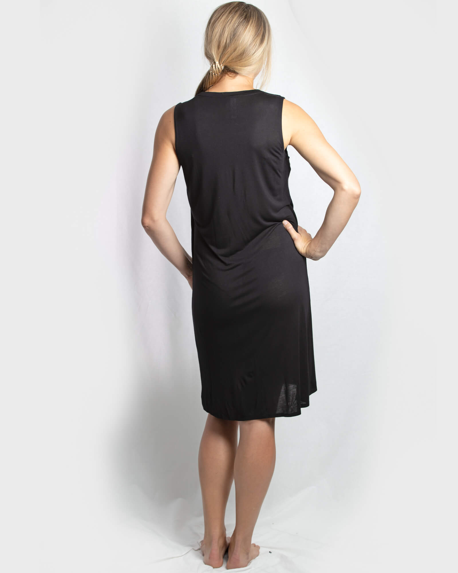 Jessica Cross Over dress - Black