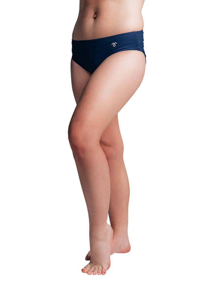 Post Maternity Bikini Bottoms Navy - mammojo lactivewear