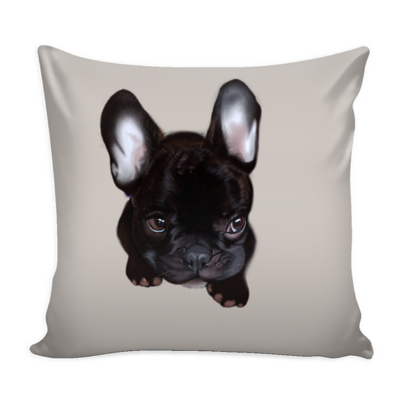 Baby Frenchie pillow cover exclusive limited edition