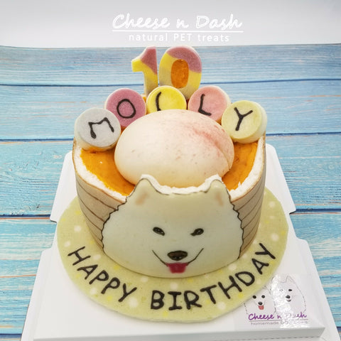 <造型系列> 壽桃蛋糕 | Themes Cake - Chinese Birthday Bun
