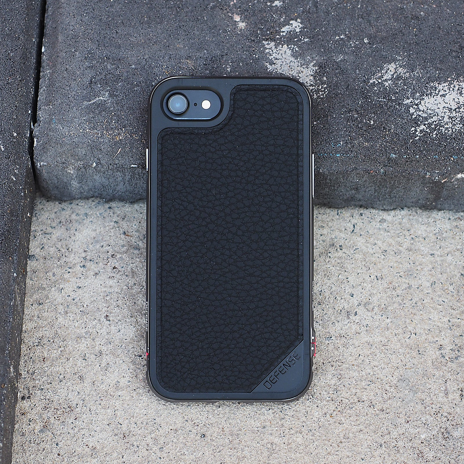 online store e6aaa 72bde X-doria Defense Lux Case For iPhone 7 - Black Leather