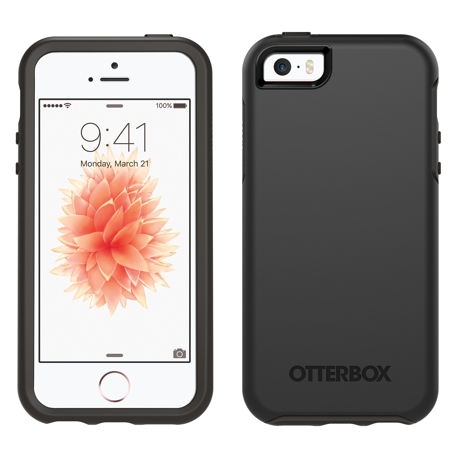 OtterBox Symmetry case for iPhone 5 5S SE - Black - Ryphone 2cd31b1d2b2a