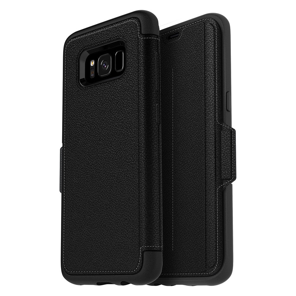 finest selection c982e 86eec OtterBox Strada case for Samsung Galaxy S8 Plus - Onyx Black
