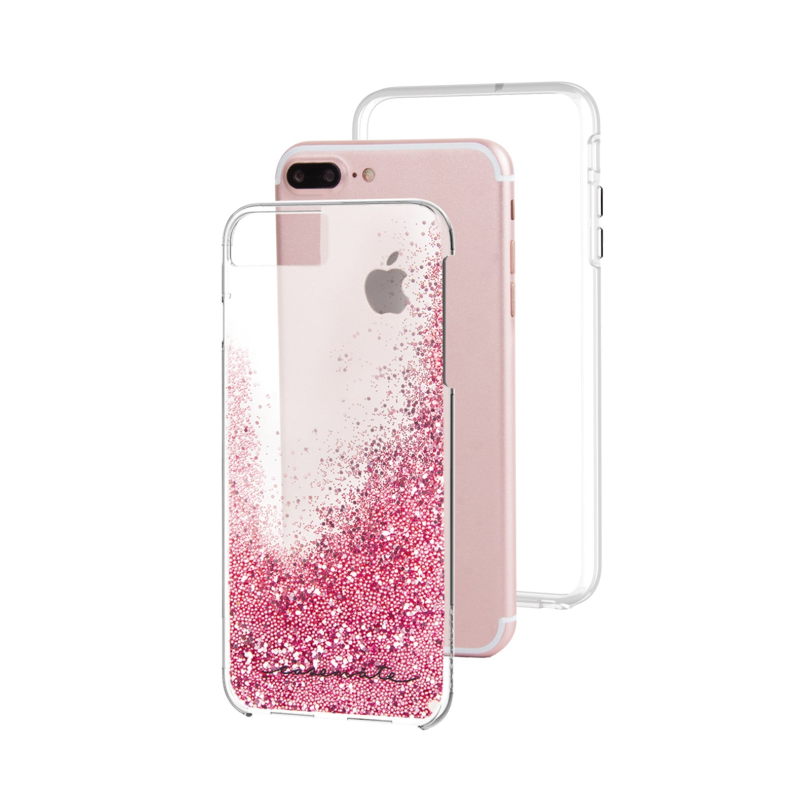 new style 5131f 322ed Case Mate Naked Tough Waterfall For iPhone 7/8 Plus - Rose Gold