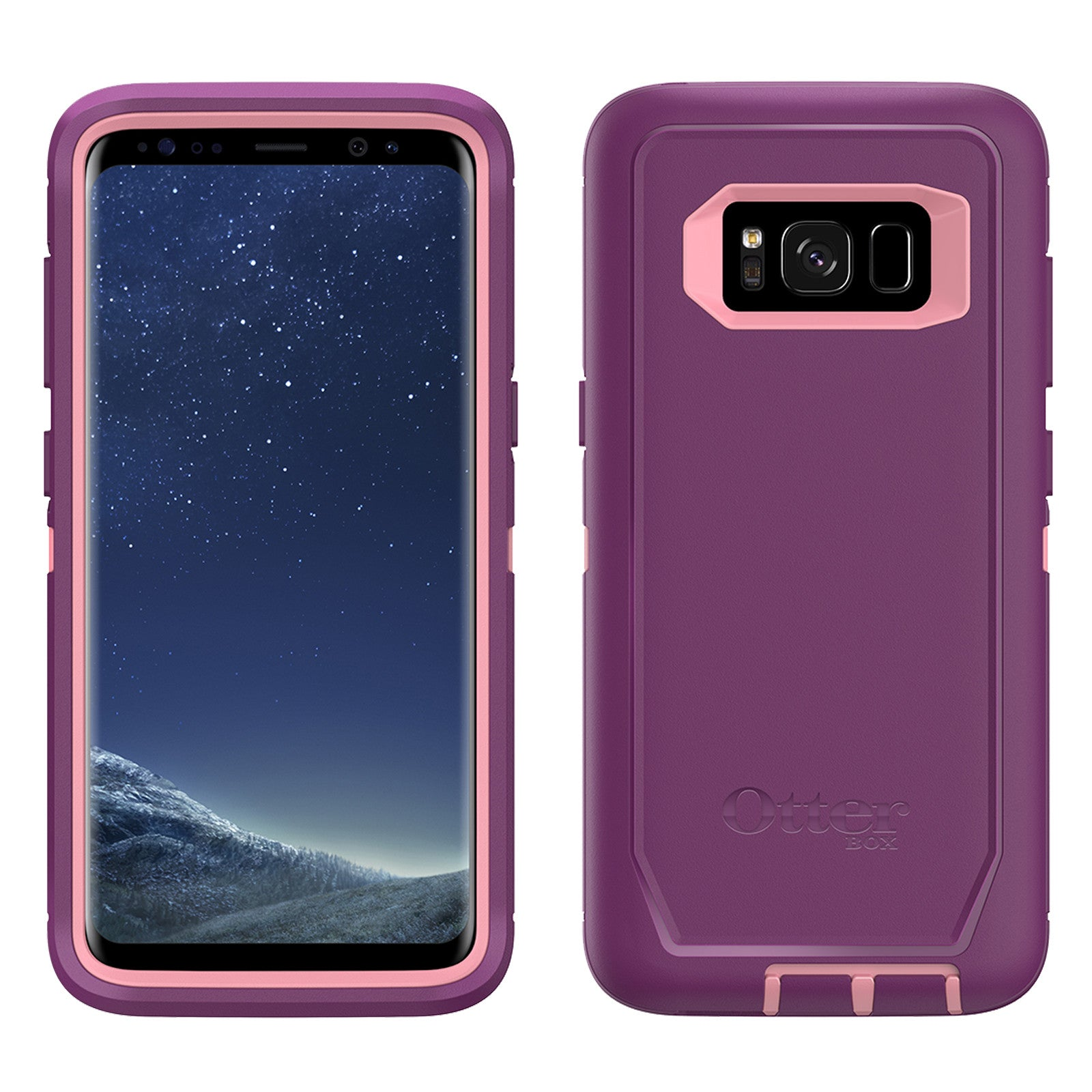 pretty nice 1bc2c b8fdc Otterbox Defender Case For Samsung Galaxy S8 Plus - Plum Way