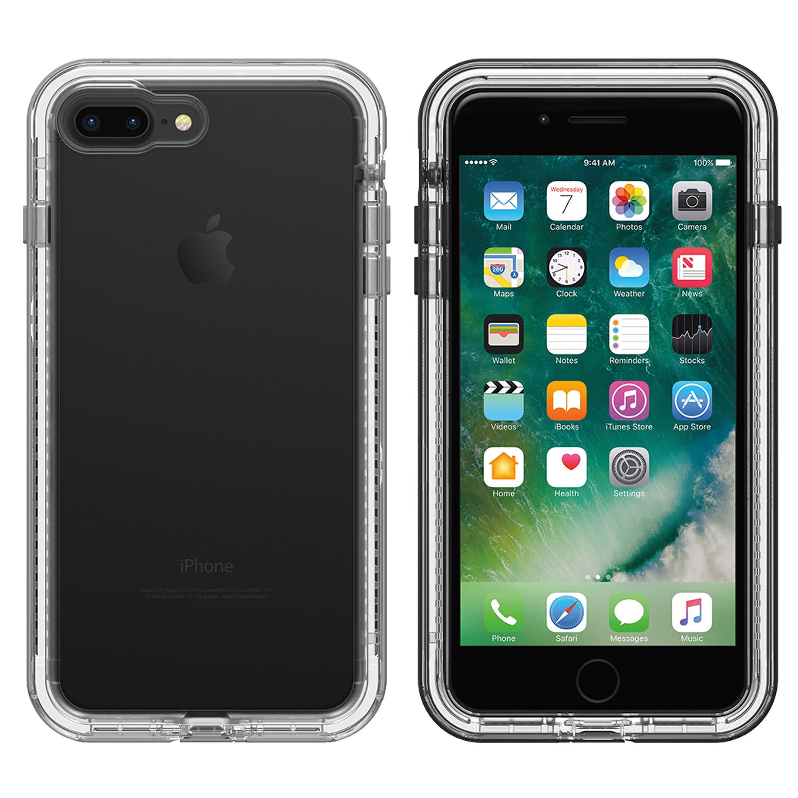newest 8e497 1bad0 Lifeproof NEXT Case For iPhone 7/8 PLUS - Black Crystal
