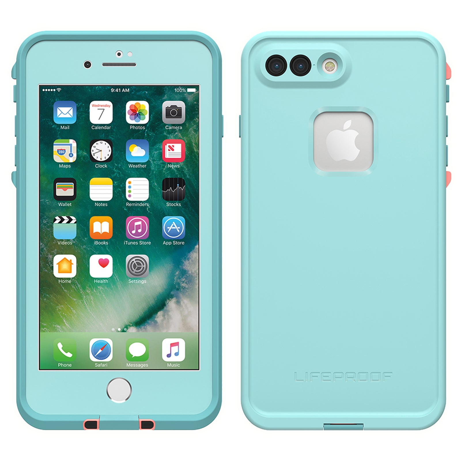 timeless design da570 62ccc Lifeproof Fre Case For iPhone 8/7 Plus - Wipe Out Aqua