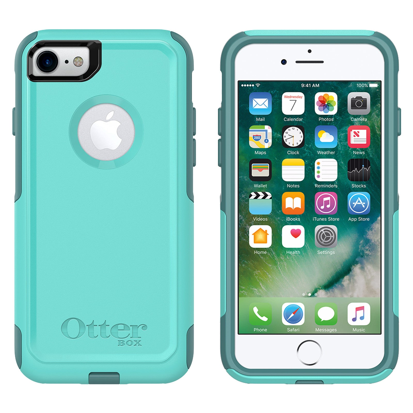 Otterbox Commuter Case For Iphone 7 8 Aqua Mint Way