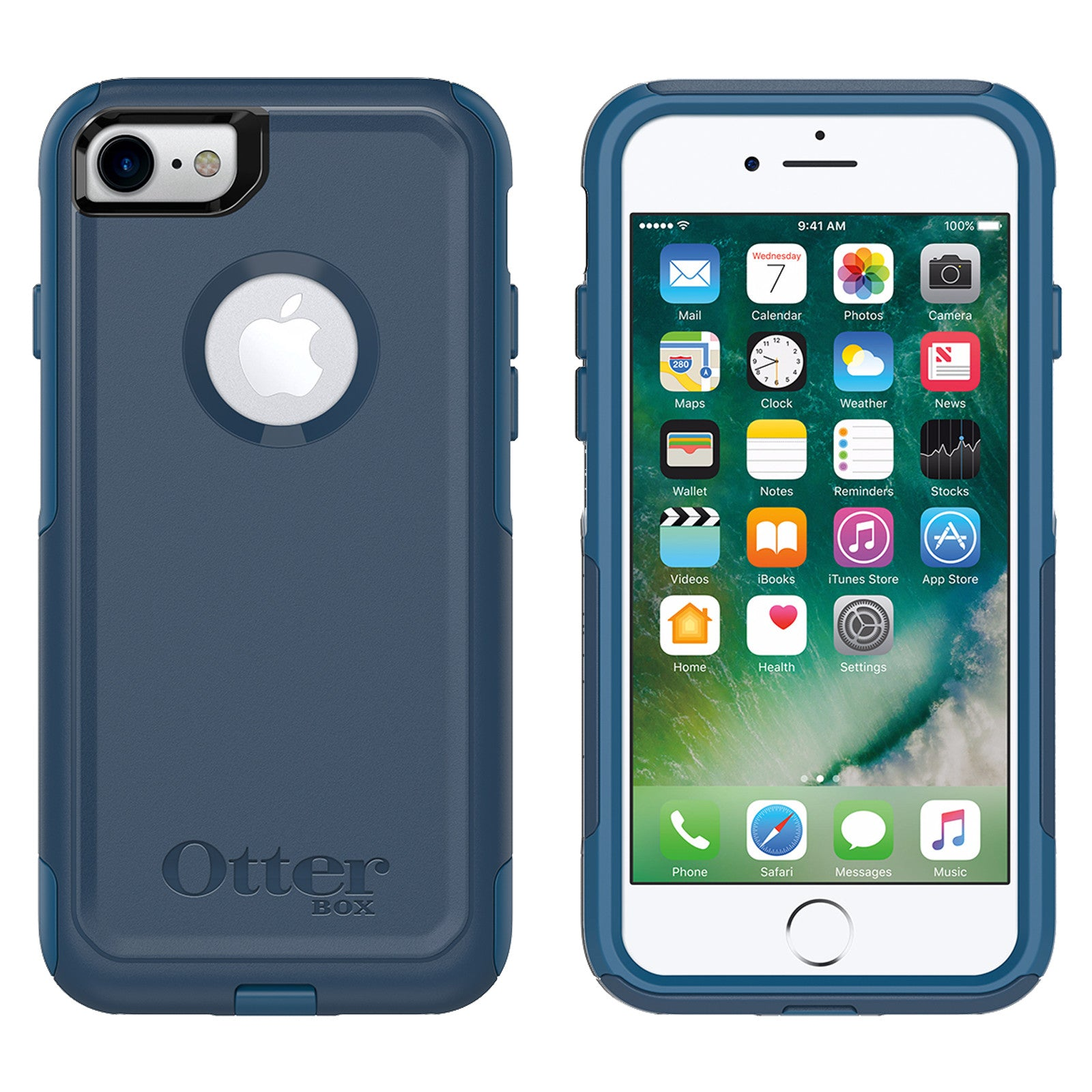 new arrival e016e 4164a OtterBox Commuter case for iPhone 7/8 - Bespoke Way