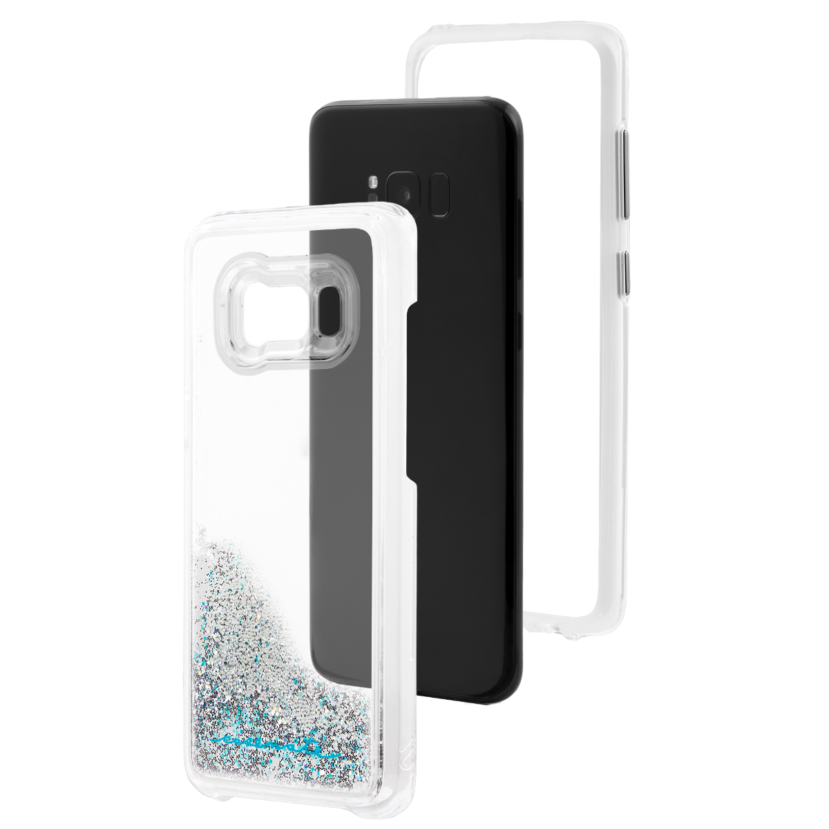 official photos 8c793 b557b Case Mate Naked Tough For Samsung Galaxy S8 - Waterfall Silver