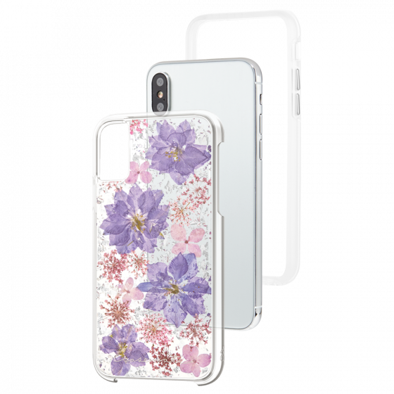 more photos 93e1c 2be8a Case Mate Karat Petals Series For iPhone X - Purple