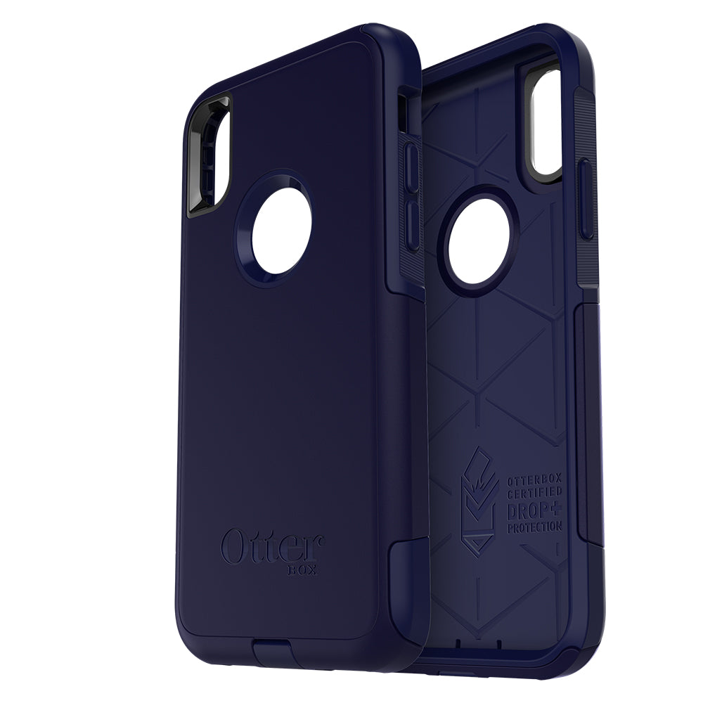check out b191e 1a565 OtterBox Commuter case for iPhone X - Indigo Way