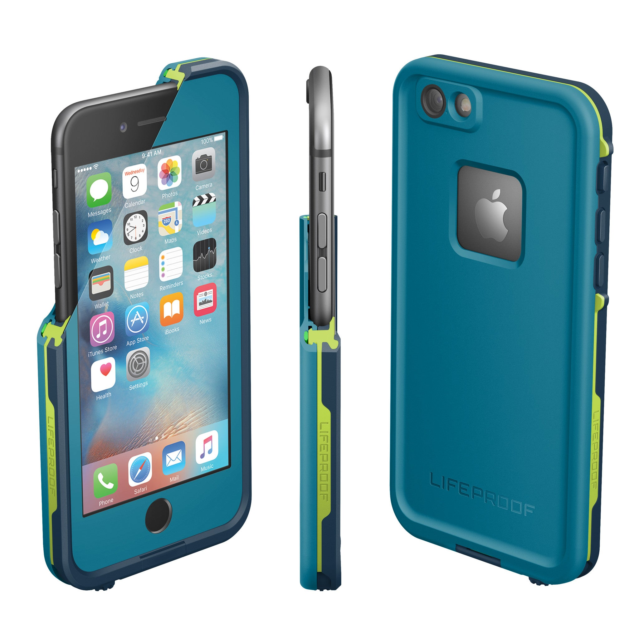 Lifeproof Fre Case For Iphone 66s Banzai Blue Ryphone