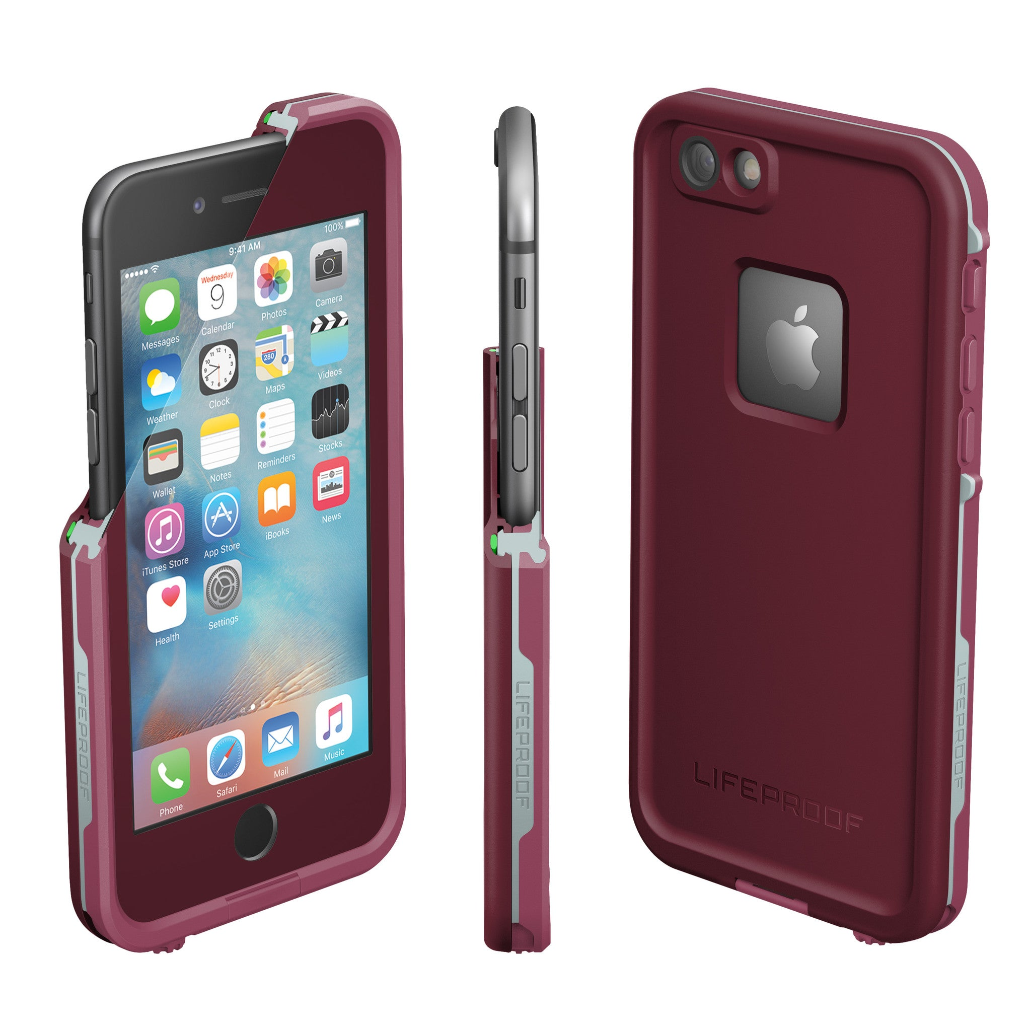 new styles f9b8c 78dd6 Lifeproof Fre Case For iPhone 6/6S - Crushed Purple