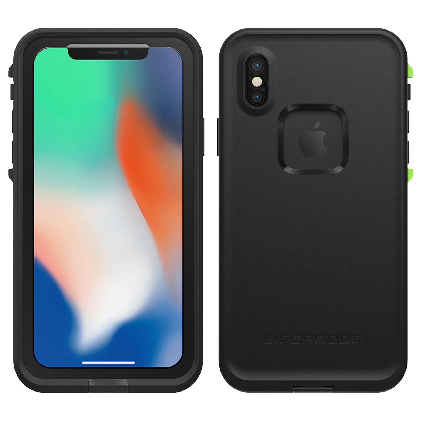 reputable site 8fd1a d4fea Lifeproof Fre Case For iPhone X - Night Lite Black
