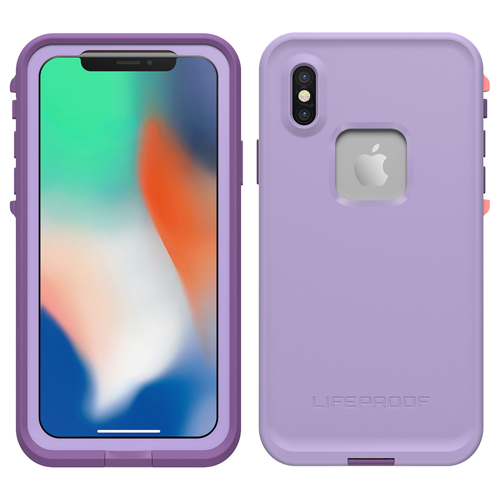 check out c368d 636f0 Lifeproof Fre Case For iPhone X - Chakra Purple