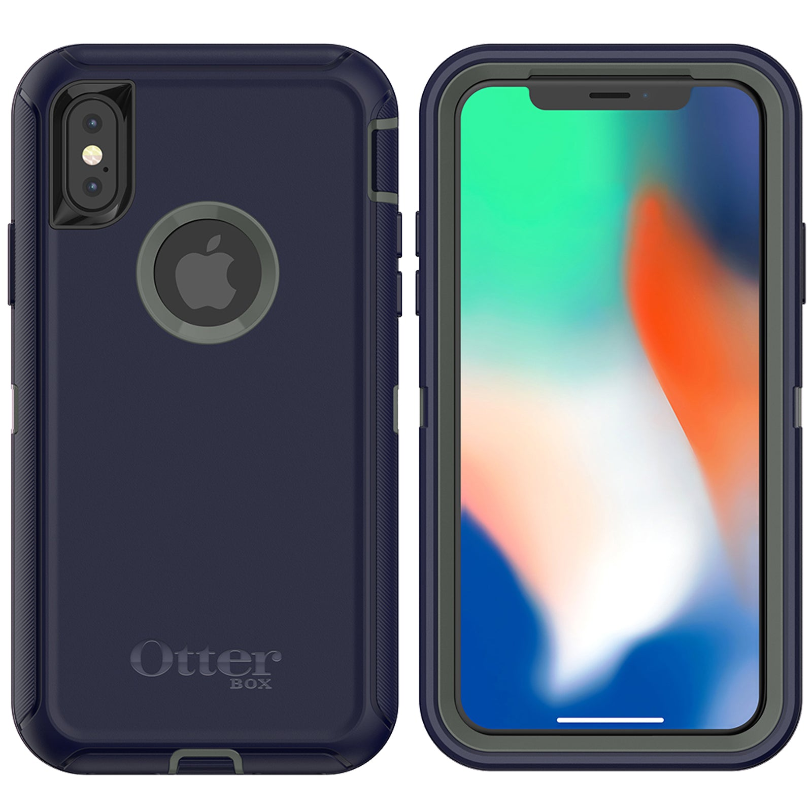 timeless design 5427b b05df OtterBox Defender Case for Apple iPhone X - Stormy Peaks