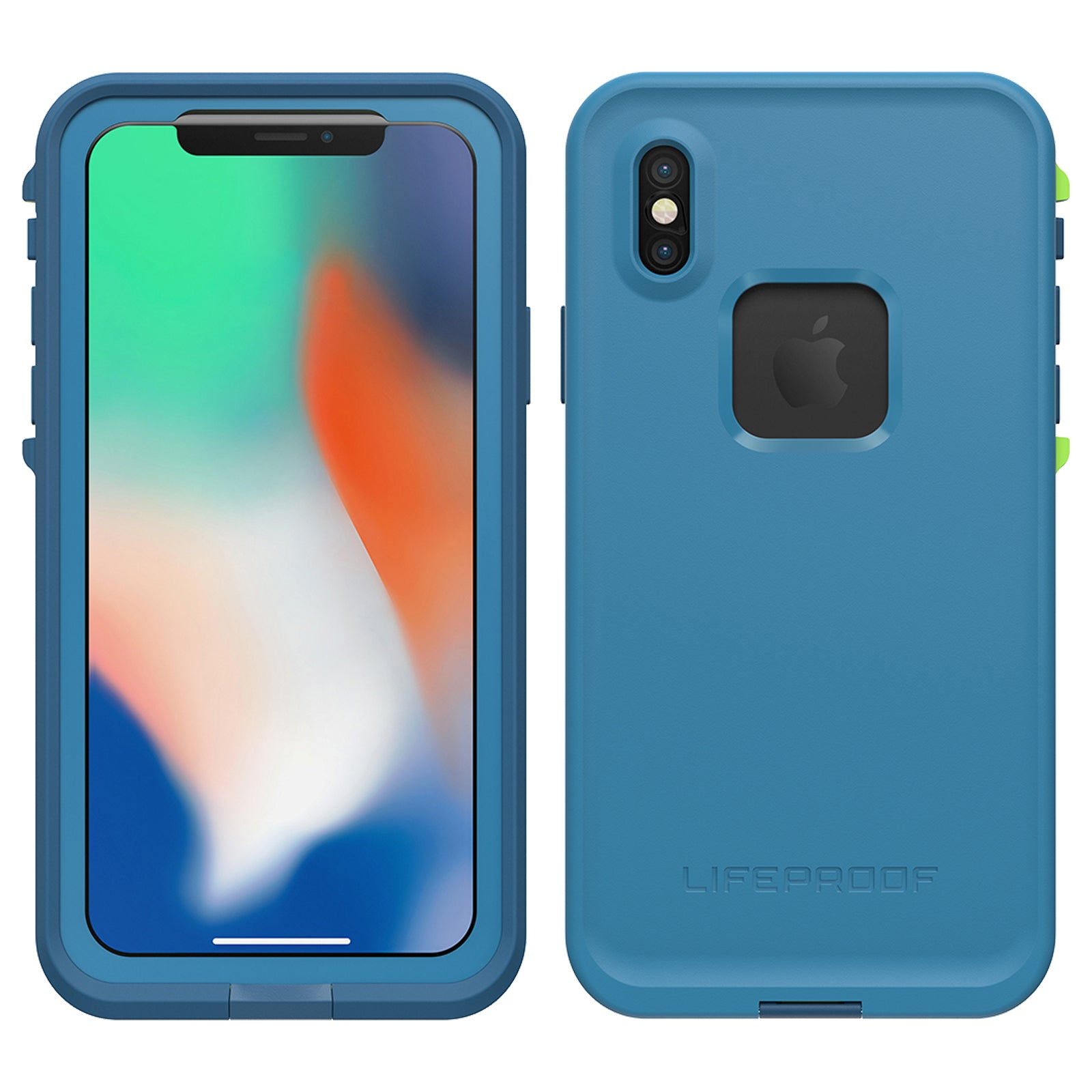 new styles 5312a 28b77 Lifeproof Fre Case For iPhone X - Banzai Blue